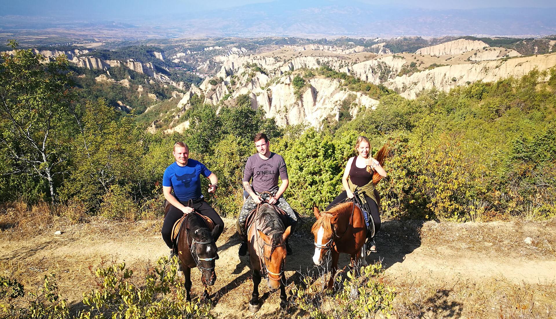 Конна езда Тангра